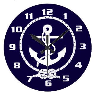 Cool Classic and Elegant Nautical Anchor Wall Clock