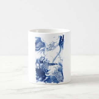 Cool Classic Japanese Demon tattoo Coffee Mug