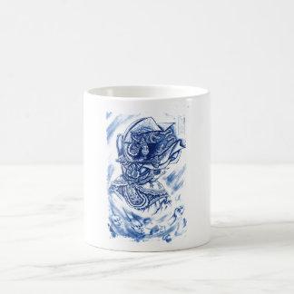 Cool Classic Japanese Demon tattoo Mugs