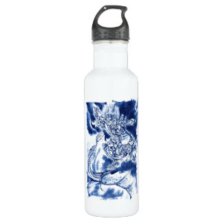 Cool Classic Japanese Demon tattoo 710 Ml Water Bottle