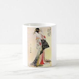 Cool Classic Oriental Japanese Geisha art Mugs