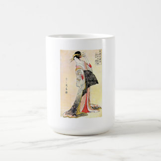 Cool Classic Oriental Japanese Geisha art Coffee Mug