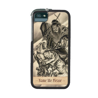 Cool classic vintage japanese demon ink tattoo iPhone 5/5S cases
