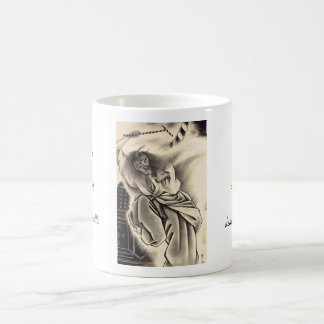 Cool classic vintage japanese demon ink tattoo mug