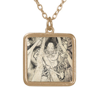 Cool classic vintage japanese demon ink tattoo jewelry