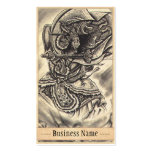 Cool classic vintage japanese demon tattoo art pack of standard business cards