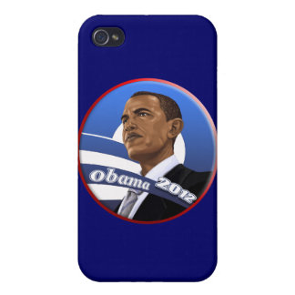 Cool Classy Sophisticated Obama 2012 iPhone 4 Case