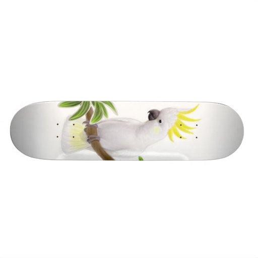 Cool Cockatoo Skateboard