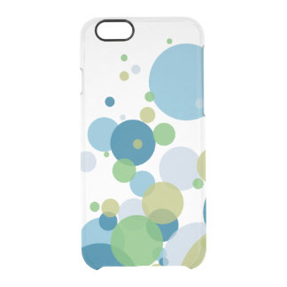 Cool Color Bubbles Clear iPhone 6/6S Case