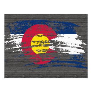 Cool Coloradan flag design Flyers