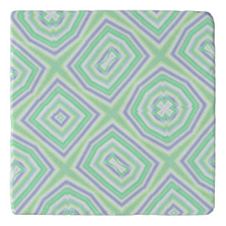 cool colorful abstract pattern trivet