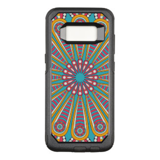 Cool colorful Boho Mandala OtterBox Commuter Samsung Galaxy S8 Case