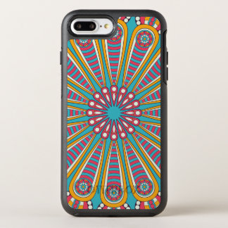 Cool colorful Boho Mandala OtterBox Symmetry iPhone 8 Plus/7 Plus Case