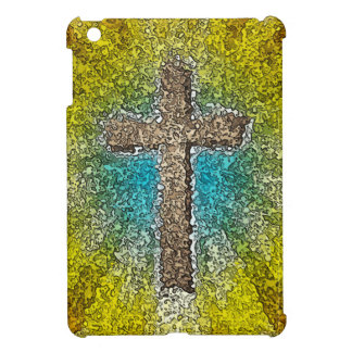 Cool Colorful Cross iPad Mini Cases