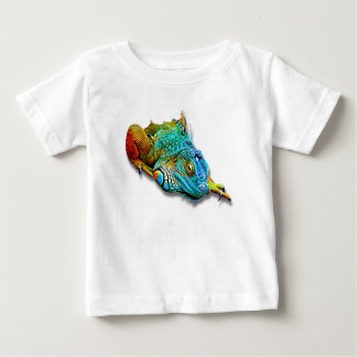 Cool Colorful Cute Lizard Reptile Baby T-Shirt