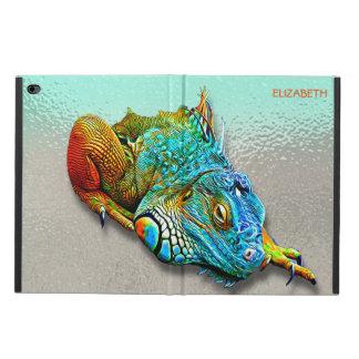 Cool Colorful Cute Rainbow Lizard Reptile Powis iPad Air 2 Case