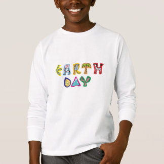 Cool Colorful Earth Day T-Shirt