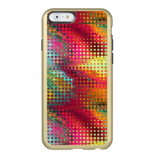 Cool Colorful red, Rainbow of Liquid Dots Incipio Feather® Shine iPhone 6 Case