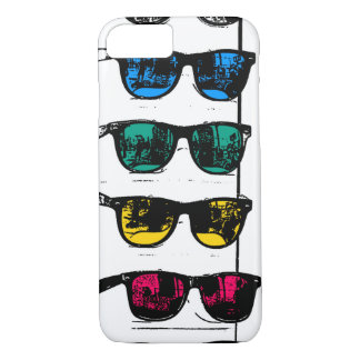 Cool Colorful Sunglasses Illustration iPhone 7 Case