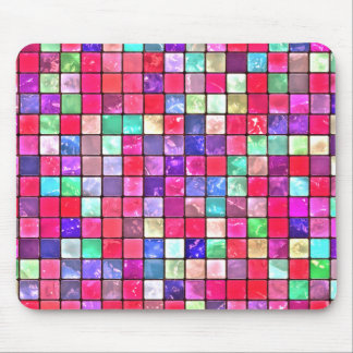 Cool Colorful Tile Pattern Mouse Pad