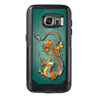 Cool Colorful Vintage Fantasy Fire Dragon Tattoo OtterBox Samsung Galaxy S7 Case