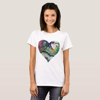 Cool Colors Heart T-Shirt