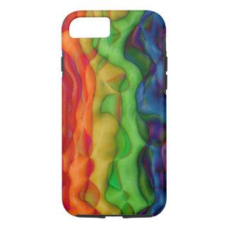Cool Colors Hippie Pride Rainbow iPhone 7 Case