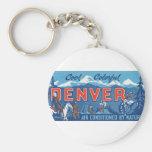 Cool Colourful Denver Key Chain