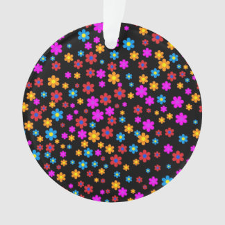 Cool colourful floral flowers pattern background ornament