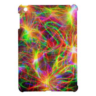 cool colourful fractal iPad mini cover