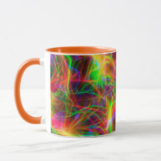 cool colourful fractal mug