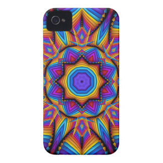 Cool colourful kaleidoscope iPhone 4 case