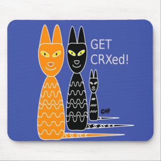 Cool Cornish Rex cats mousepad