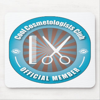 Cool Cosmetologists Club Mouse Pad