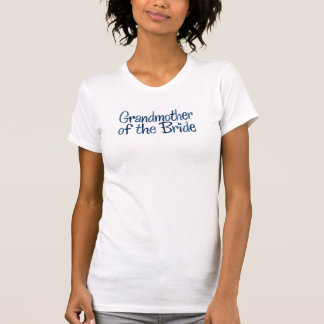 Cool Country Grandmother of the Bride T-Shirt