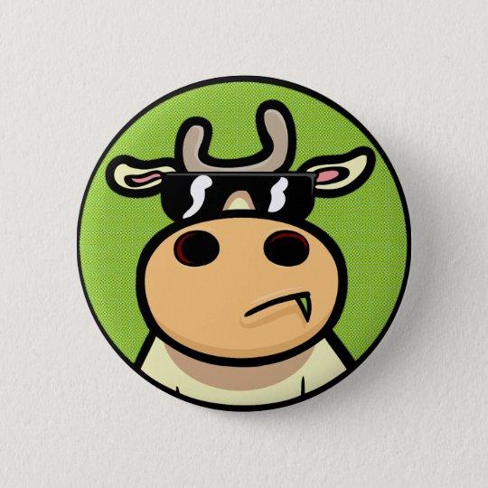 Cool Cows 6 Cm Round Badge