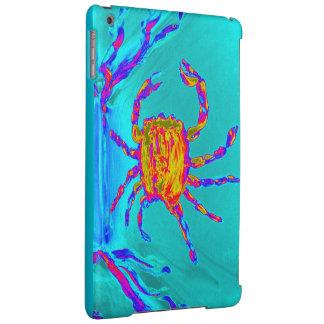 Cool Crab Undersea Art iPad Air Cover