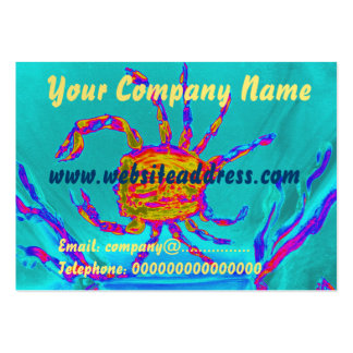 Cool Crab Undersea Art Pack Of Chubby Business Cards