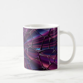 Cool cracked purple mug