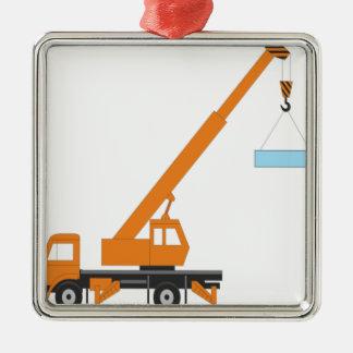 Cool Crane Boy Gift Idea Christmas Ornament