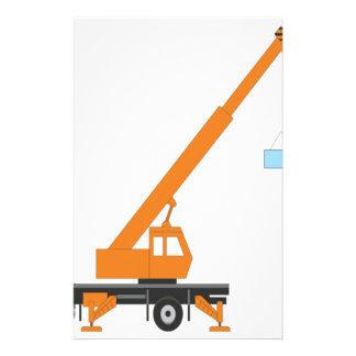 Cool Crane Boy Gift Idea Stationery