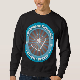 Cool Cribbage Players Club Pullover Sweatshirts
