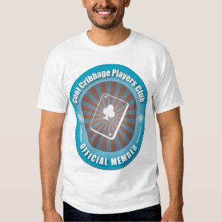 Cool Cribbage Players Club T-shirts