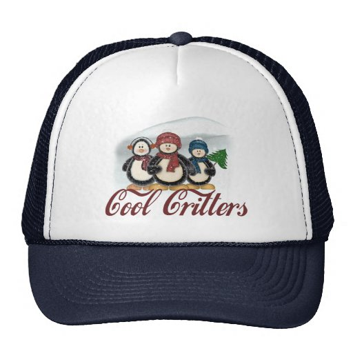 Cool Critters Hats