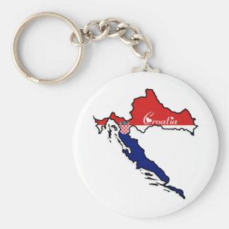 Cool Croatia Key Ring