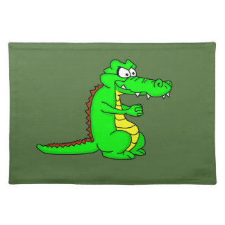 Cool crocodile design placmats placemat