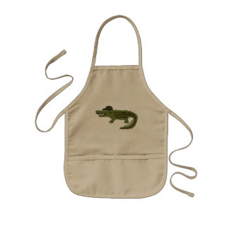 Cool Crocodile Kids Apron