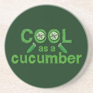 Cool Cucumber coaster