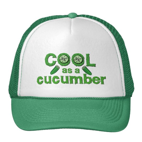 Cool Cucumber hat - choose color