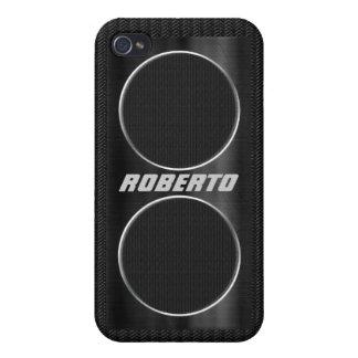 Cool Custom Speaker Look  iPhone 4 Case